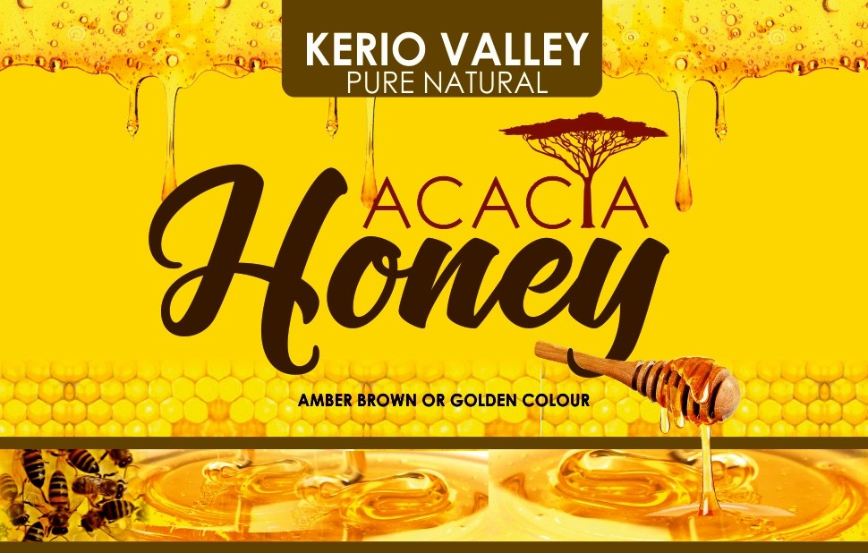 NEW KVDA PURE NATURAL ACACIA HONEY