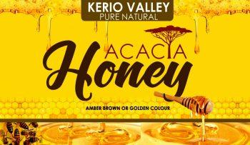 NEW KVDA PURE NATURAL ACACIA HONEY